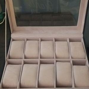 Storage & Organization - J personalized watch case